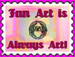 Fan Art stamp by reddartfrog