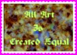 Art Equal stamp by reddartfrog