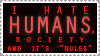 I hate Humans by xAbyssneyxx