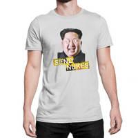 Send Nukes Kim Jong-Un Funny Novelty T-Shirt