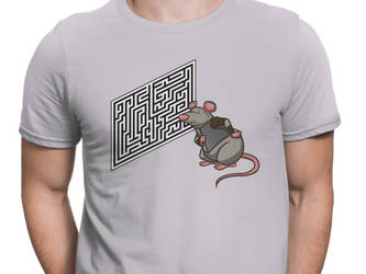Rat Figuring out Maze Short-Sleeve T-Shirt by eastvold