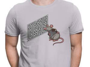 Rat Figuring out Maze Short-Sleeve T-Shirt