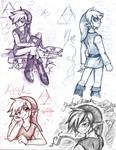 Four Swords Sketches