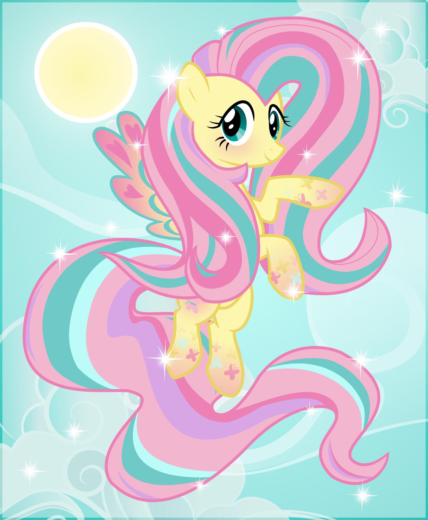 Rainbow Power Fluttershy by Idontknow350 on DeviantArt