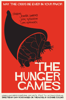 Saul Bass inspired Hunger Games Poster