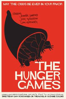 Saul Bass inspired Hunger Games Poster