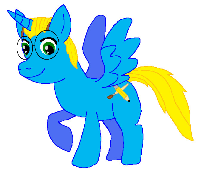 Kyle As A Winged Unicorn From Mlp Fim By Kylgrv On Deviantart