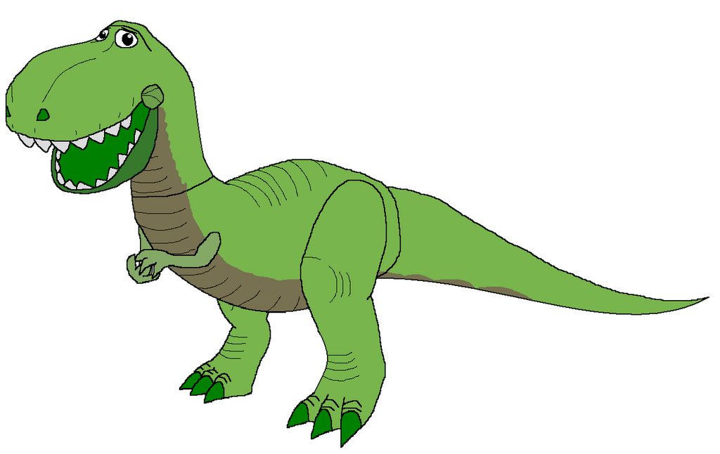 Toy Story Dinosaur : Rex toy story by kylgrv on deviantart
