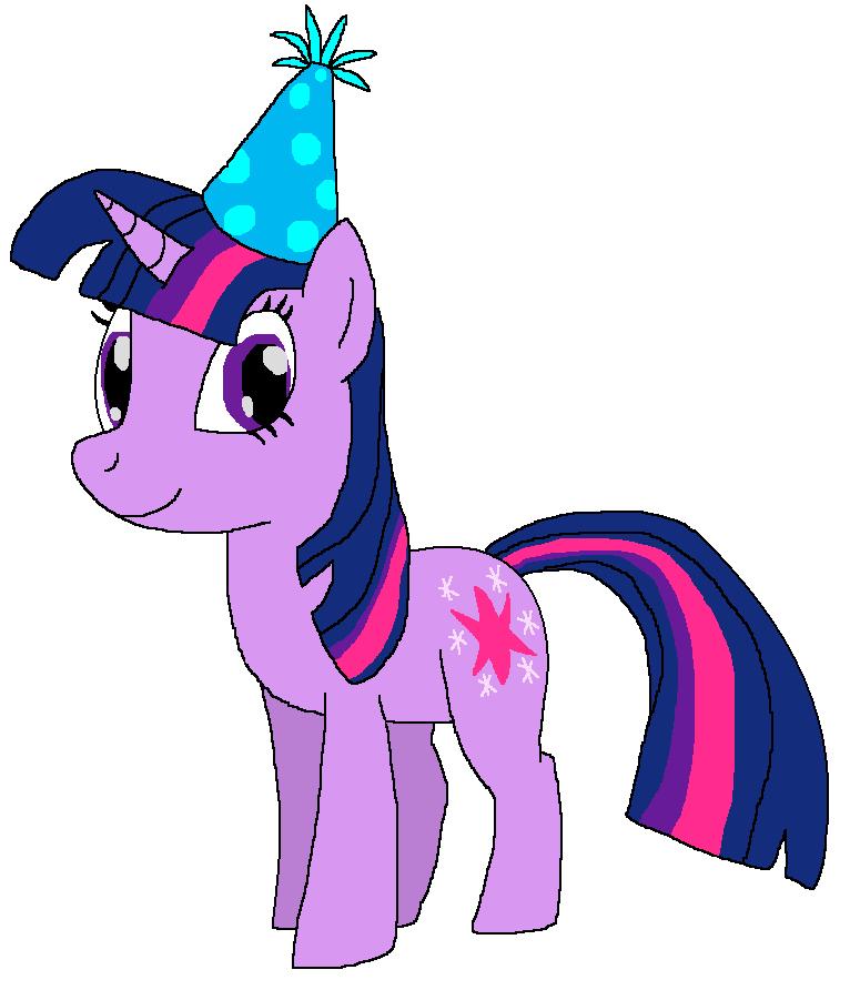 twilight sparkle with a birthday hat by kylgrv on deviantart rh kylgrv deviantart com sprinkle clip art sparkle clip art free