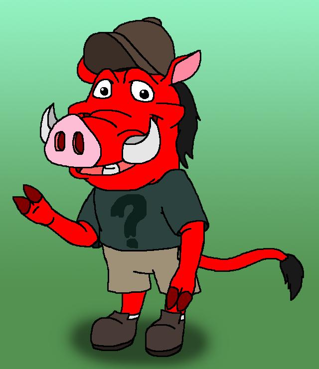 Pumbaa As Soos By Kylgrv