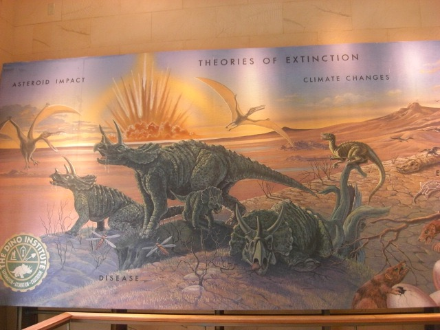 theories for the extinction of dinosaur The latest theory about dinosaurs suggests they may have lived mostly in the water, needing the buoyancy of aquatic life to support their huge frames here is a round up of other recent theories.