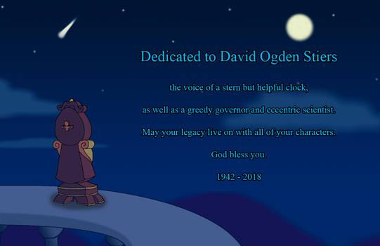 Dedicated to David Ogden Stiers
