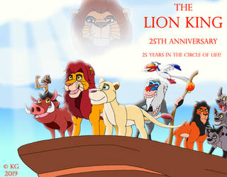 25 Years in the Circle of Life by kylgrv