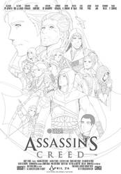 Assassin's Creed - End Game Poster by CoNSu