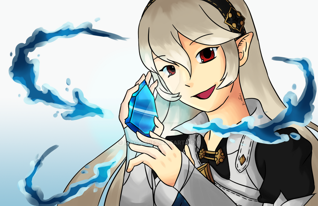 Female Corrin (+Timelapse Video) by Izagar