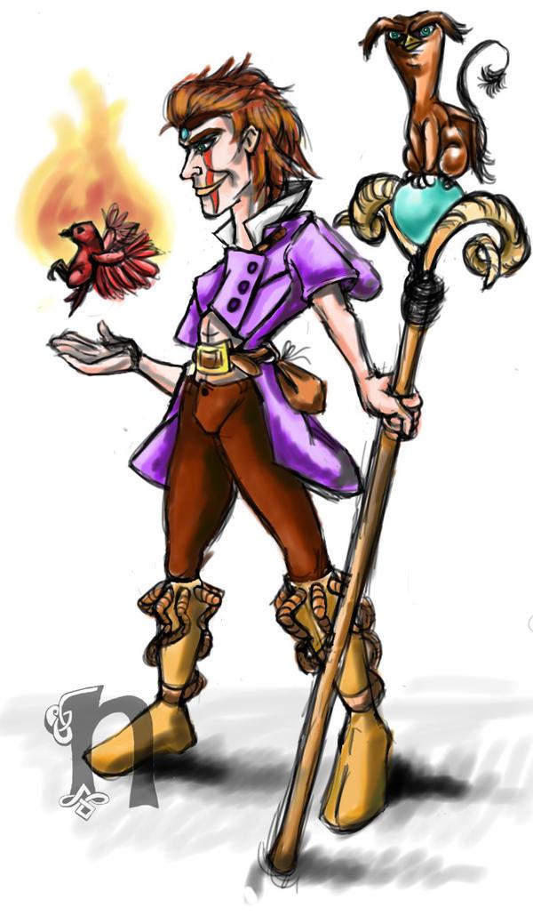 Warlock by Nebo-Illustrator