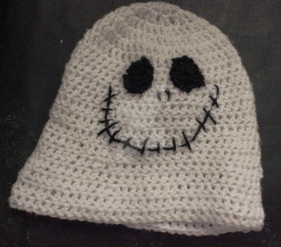 Original Jack Skellington Beanie by Nebo-Illustrator on DeviantArt e5b4d90bbff