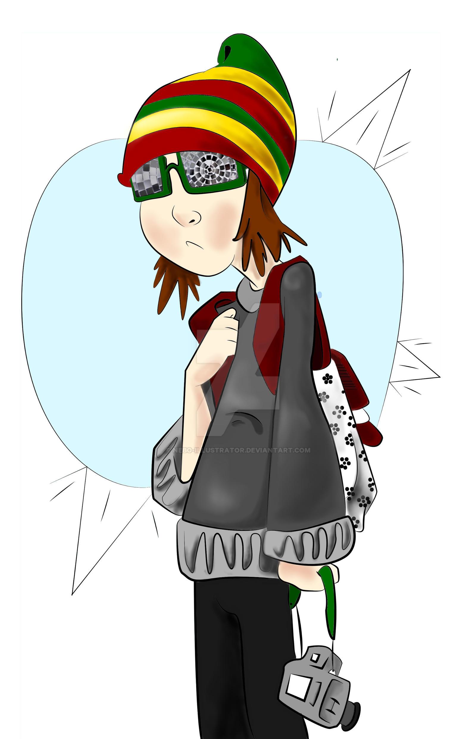 Character Design By Illustrator : Loner character design by nebo illustrator on deviantart