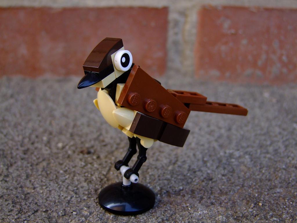 Tiny Sparrow by Djokson