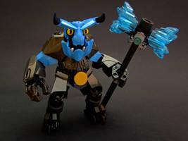 Grommok the Thrasher by Djokson