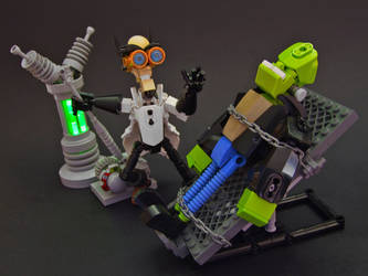 The Monster of Dr. Frankenstein by Djokson