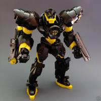 Megaton Slizer: Blaster by Djokson