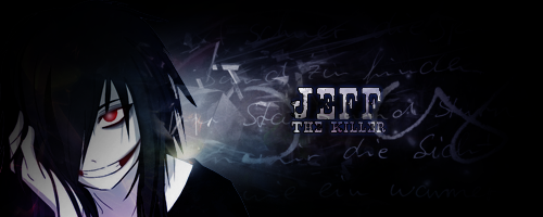 [Signature] [Design] Jeff the Killer by etershine