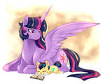 twilight sparkle and Light Sword