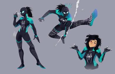 Spidersona- spidersam? by kraytt-05