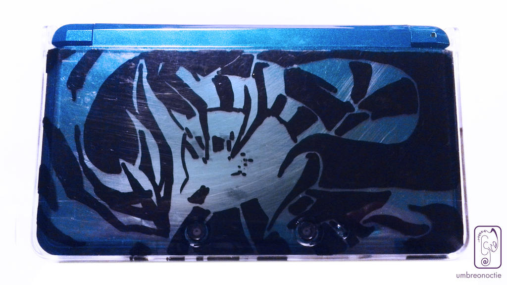 Giratina 3DS Customization by UmbreoNoctie
