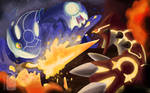 Kyogre and Groudon - New Battle