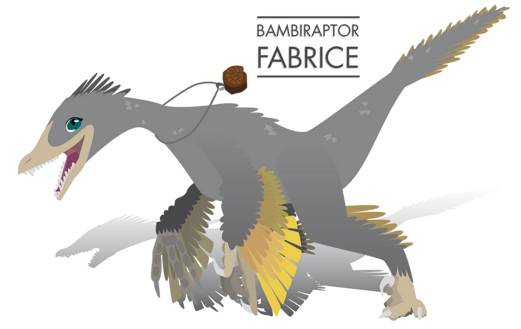 Fabrice Bambiraptor by UmbreoNoctie