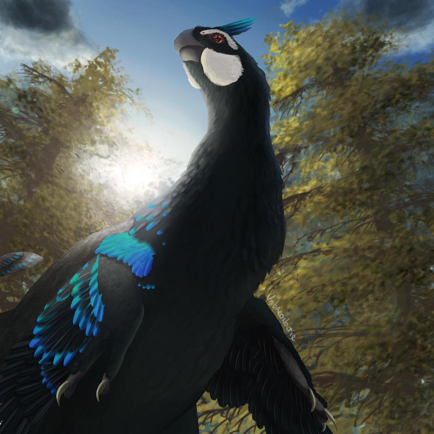Male Gigantoraptor by UmbreoNoctie