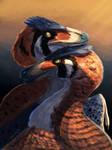Raptor in love