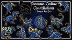 Dinosaur Zodiac Constellation by UmbreoNoctie