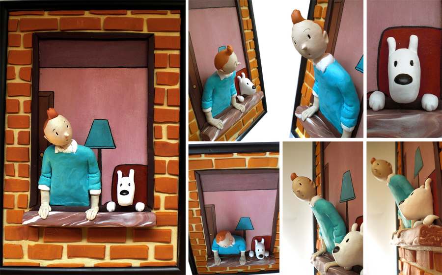 Tintin by Abi-and-Aiba