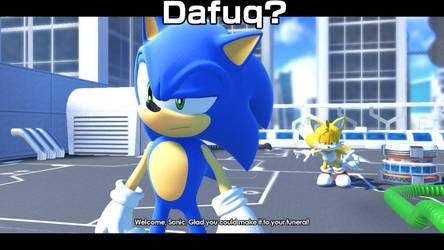 Sonic Forces Meme #2: Say What?
