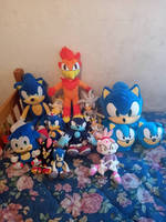 My Sonic Plushies Revisited