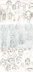 Sketchdump by AlissaD