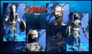 Link Papercraft : Zora Armor TP