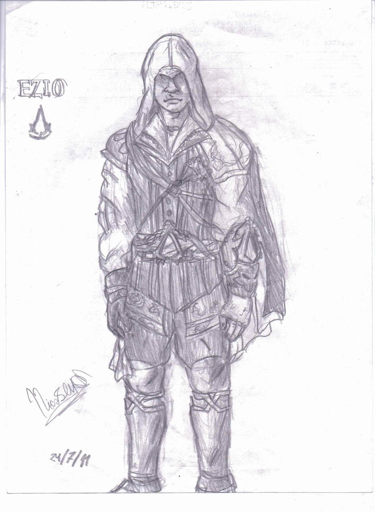 :ASSASSINS CREED II: Ezio Auditore Da Firenze by Nicolas-SW