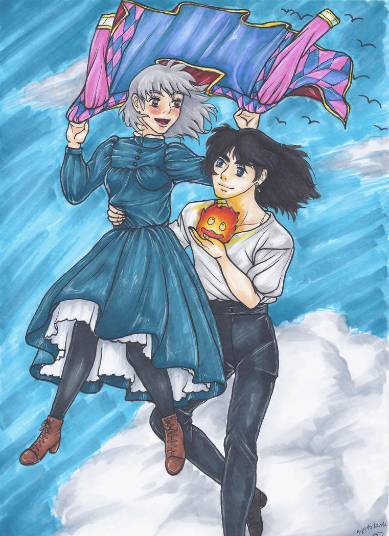 Howl's Moving Castle by ShaiMatarasso