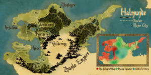 Map of Halmunde