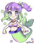 HarpyMusic Gift - Mermaid with little Star.