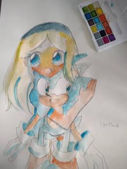 Maria and Sonic little hug
