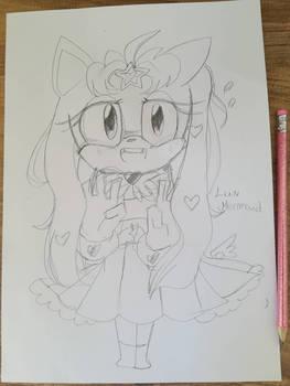 Litchi the Hedgehog Oc Sonic