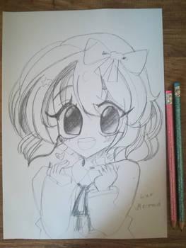 Sayori fan art