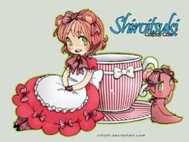 Shiroitsuki Mascot Strawberry by Coffeshere