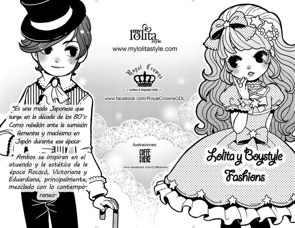 Triptico Lolita Portada- Espanol by Coffeshere