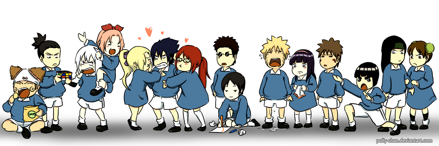 Kindergarten by polly-chan